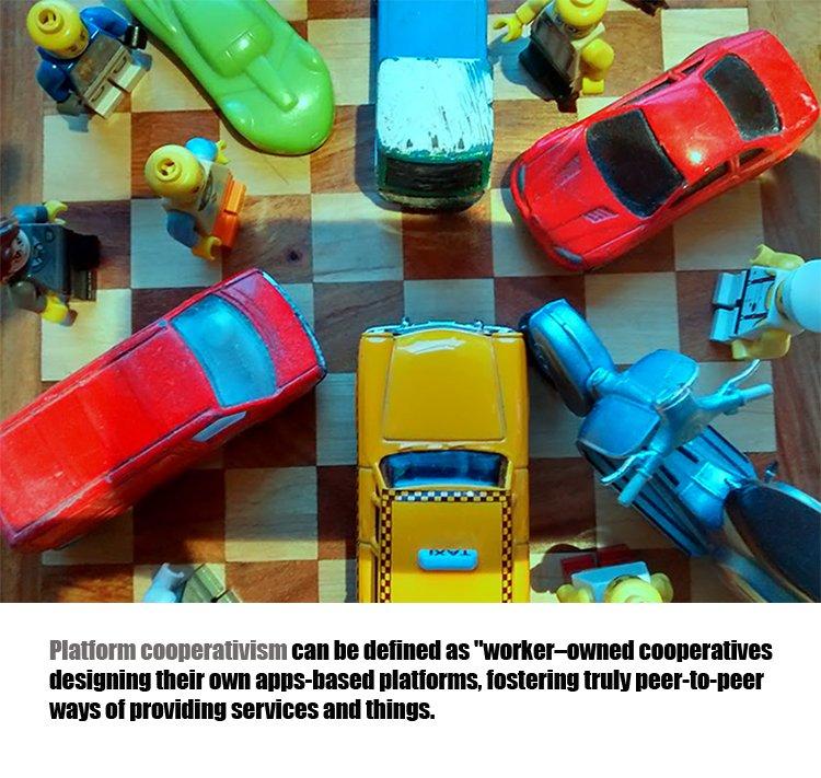 Platform cooperativism. Image source by Maria Fonseca