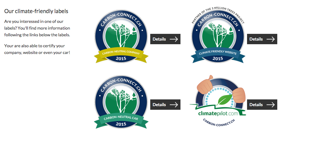 climate friendly labels