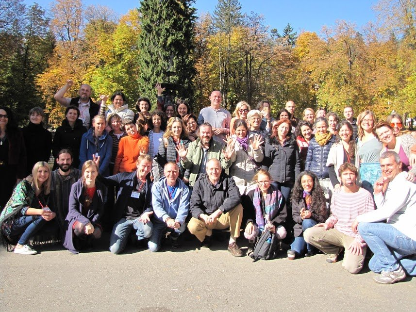 Participants of the NVC Intensive International Training