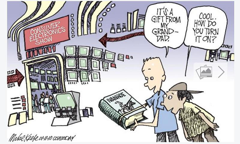 Cartoon by Make Keefe