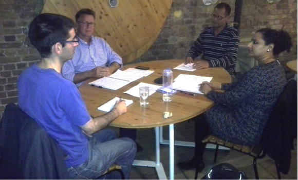 Coaching circle at Impact Hub Kings Cross