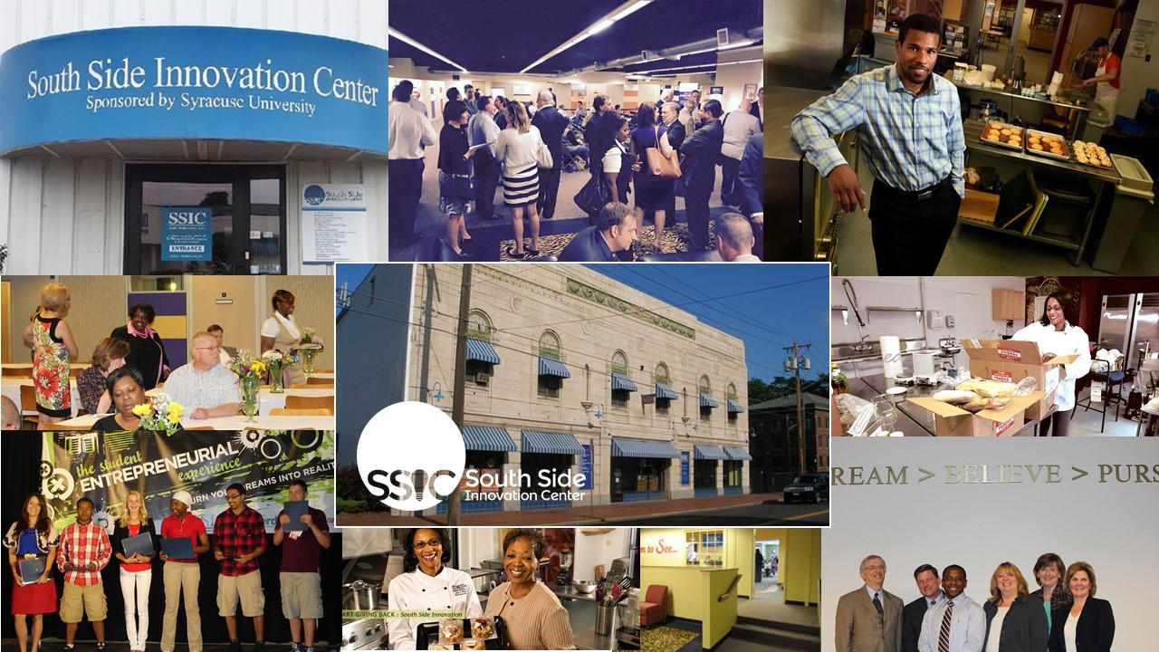 Pictures courtesy made available by South Side Innovation Center and Syracuse University