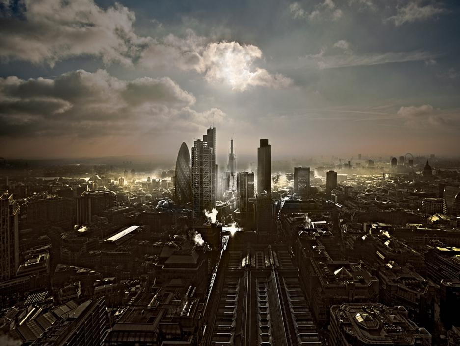 London Landscape, photo by Howard Kingsnorth