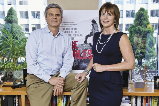 Jean and Steve Case