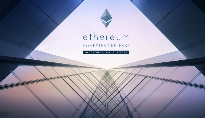 Ethereum: Screenshot of website
