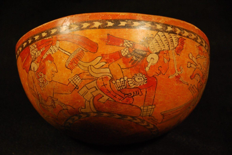 A Mayan archaeological artifact