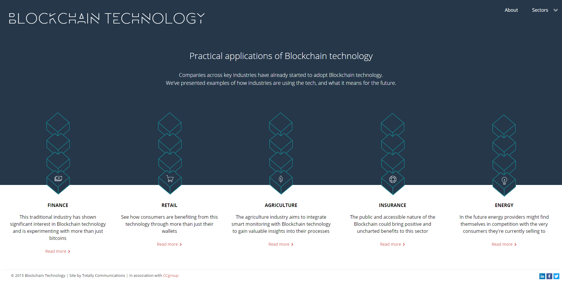 Practical Applications of Blockchain Technology by CC Group