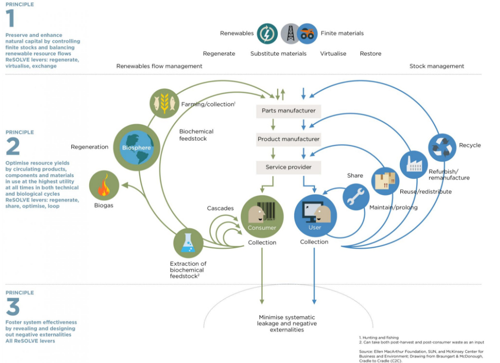 Outline of a Circular economy by ellenmacarthurfoundation.org