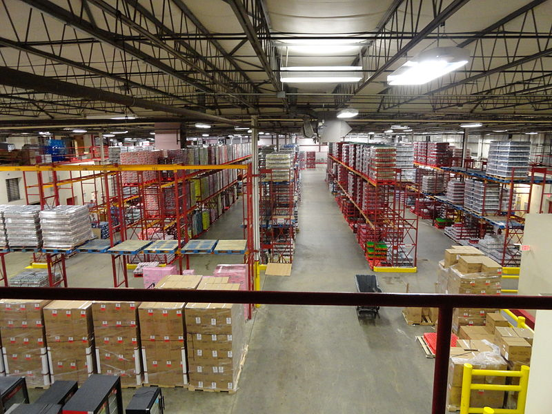 Coca-Cola Bottling Company of Cape Cod warehouse
