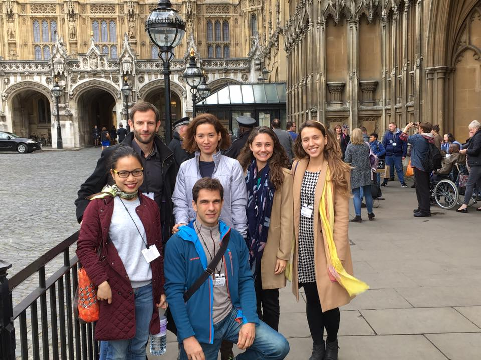 Reinventing Democracy Group on a Learning journey to the House of Commons