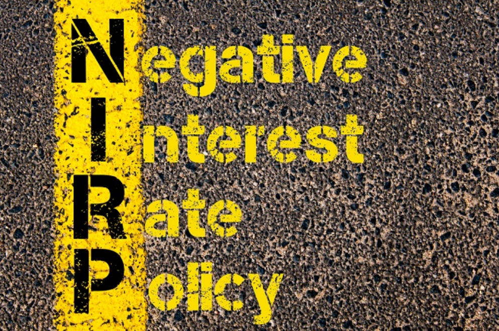 what are negative interest rates