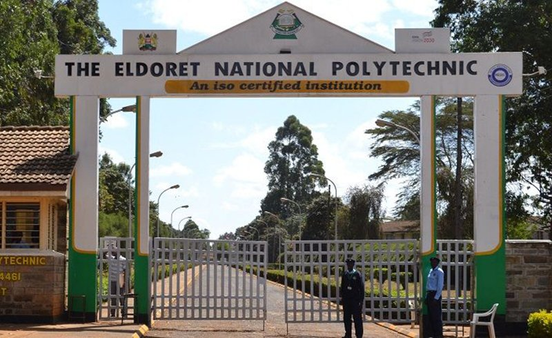 Studying at Eldoret National Polytechnic