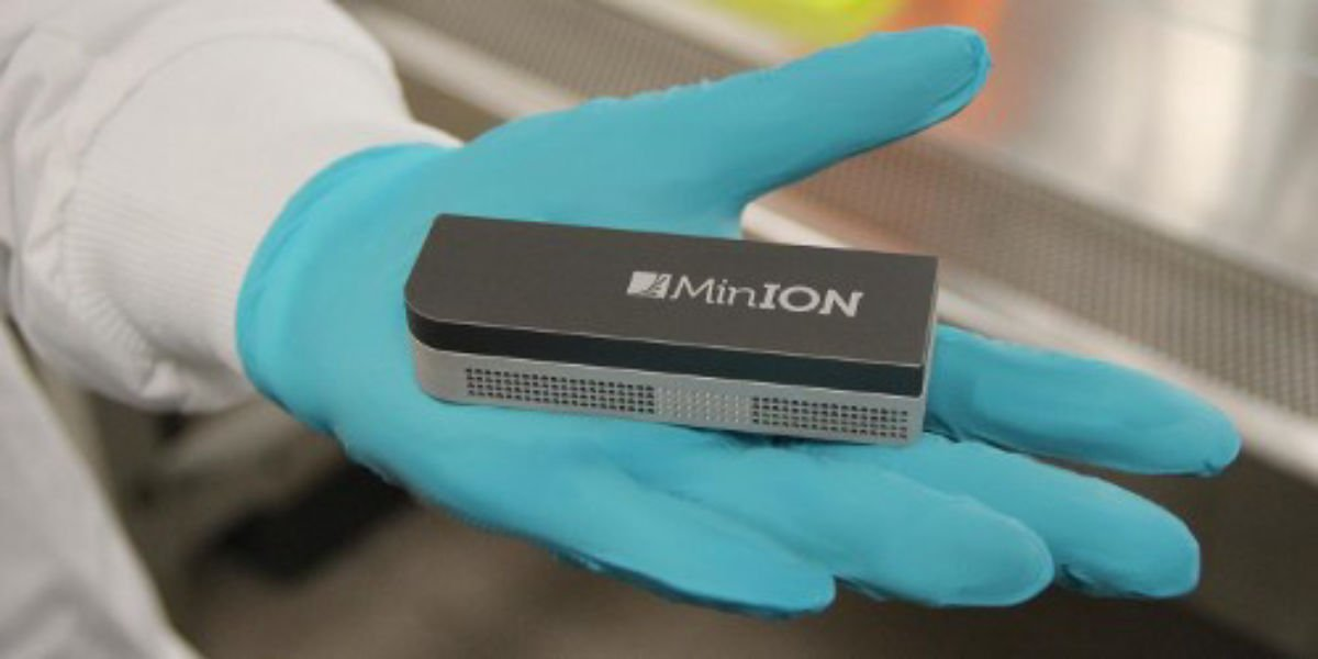 MiniION is a portable DNA sequencer