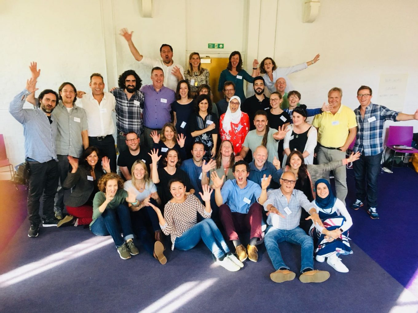 "Journeying Through The History of Organisations at the Kairos Project: ""Reinventing Organisations, An Experiential Workshop"" London, 2018"