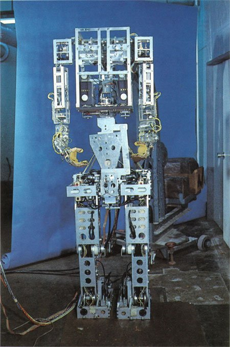 WABOT-1 was a humanoid robot considered to be the first of its kind, in that it was intelligent, and utilised machine learning.