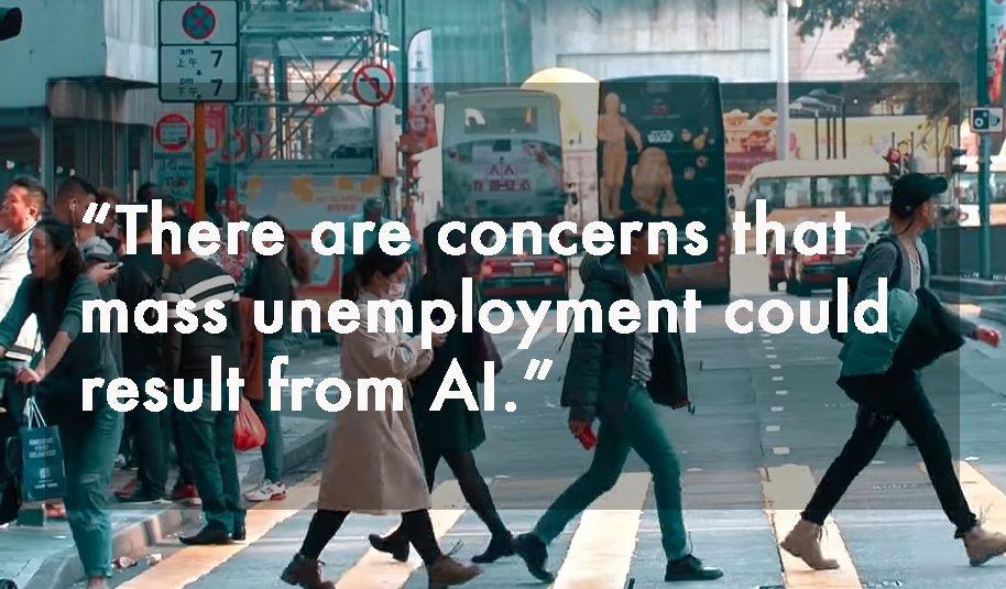 Concerns of mass unemployment AI Intelligenthq