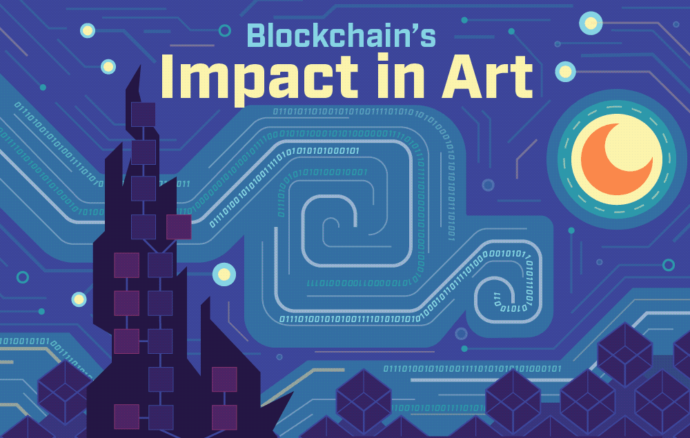 Blockchain in art