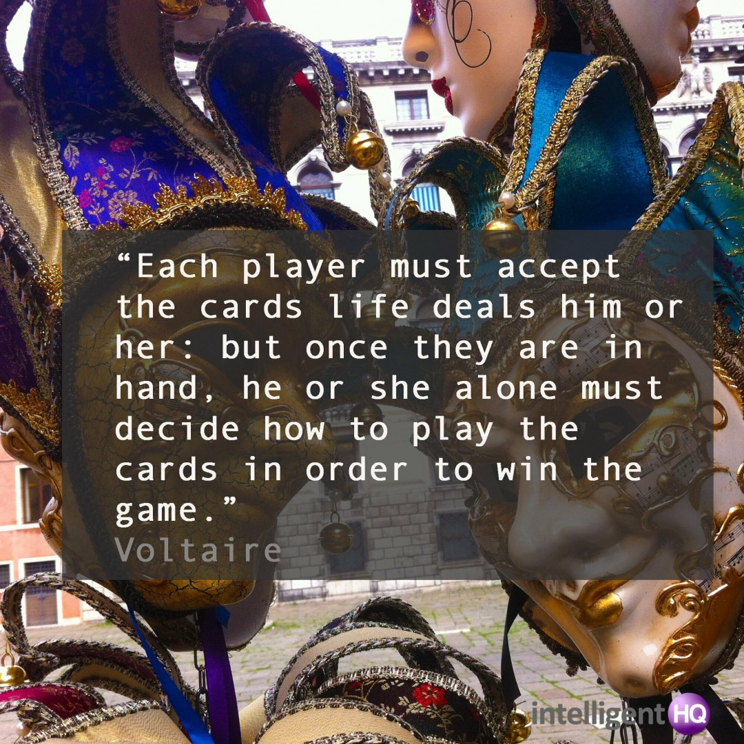 Quote by Voltaire. Image by Maria Fonseca.