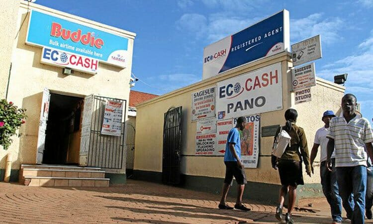 "In Zimbabwe, practically all payments are carried out by a company, ""Ecocash"" a subsidiary of the South African company ""Econet"" which oversees all payments through its mobile payment facility."