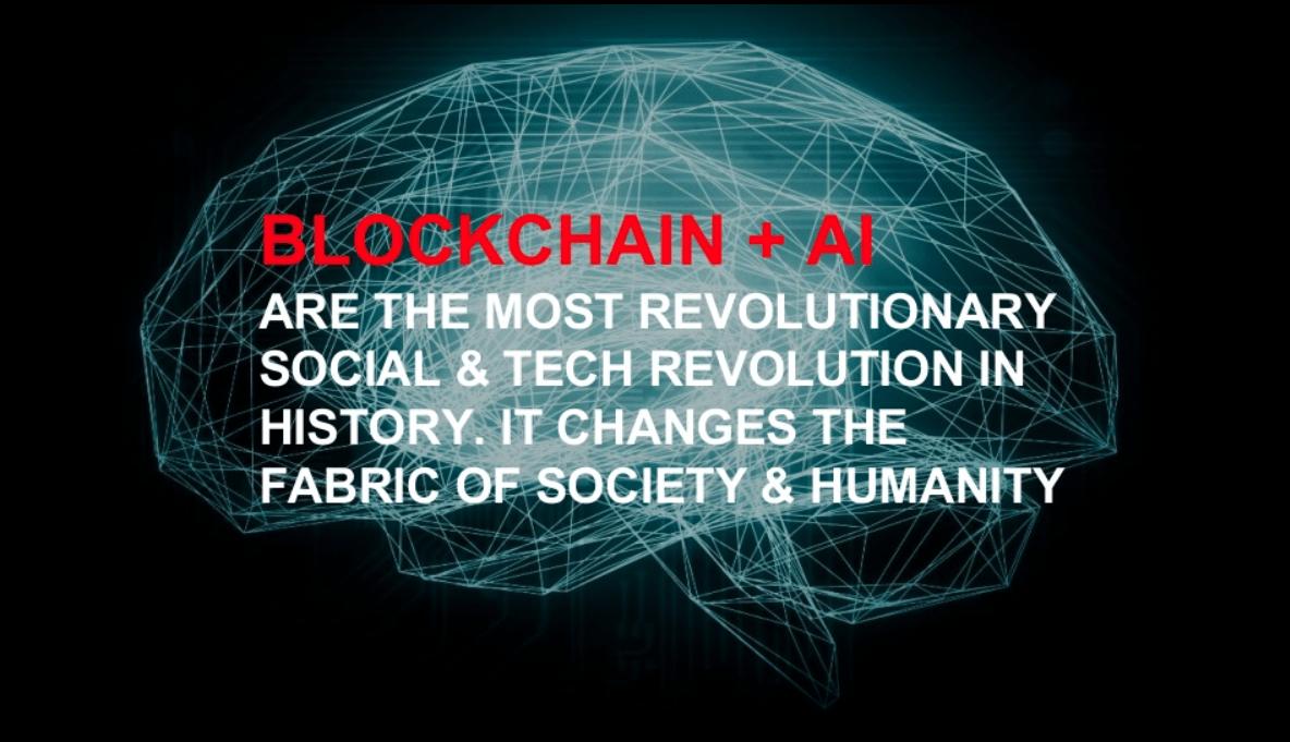Blockchain plus AI