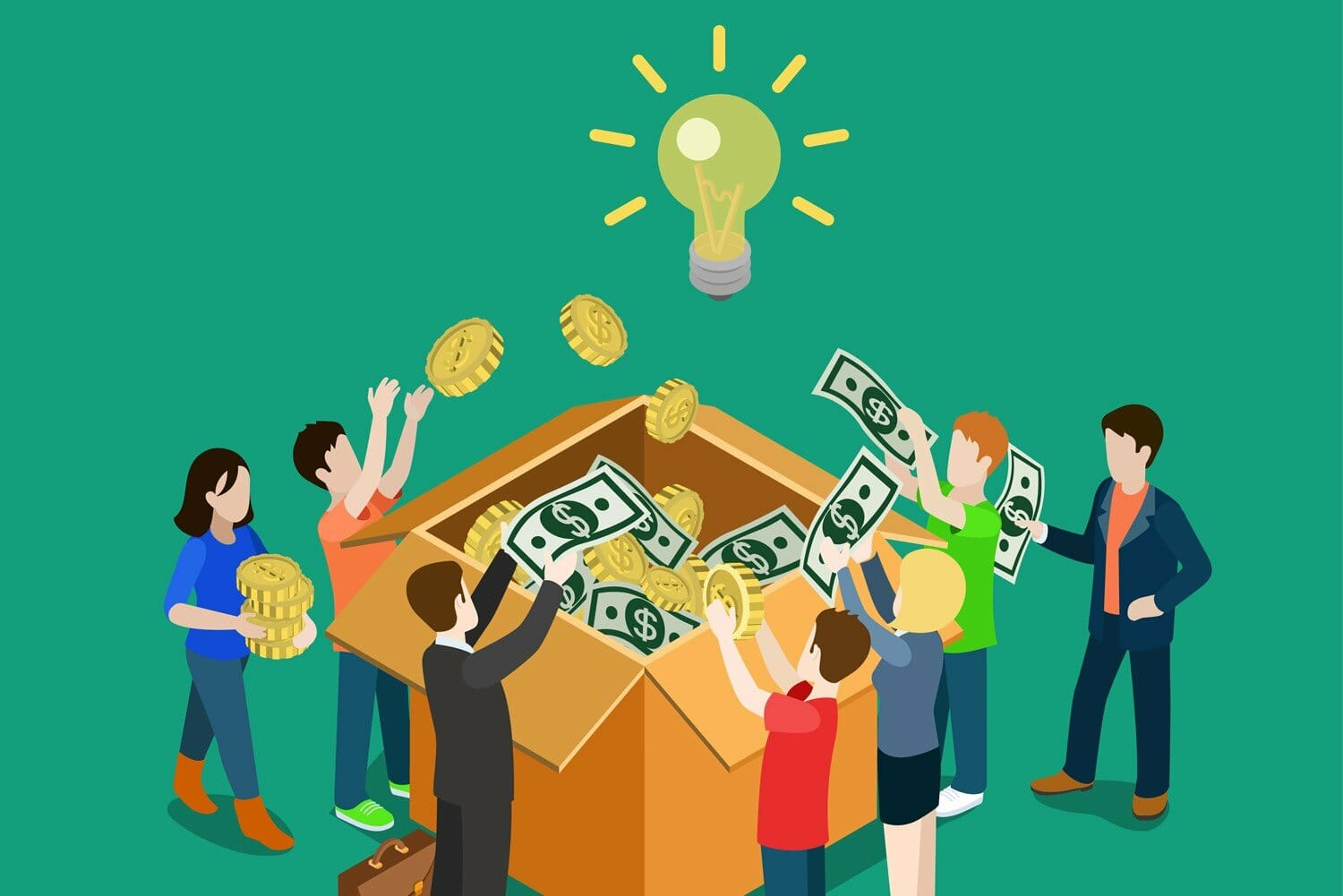 Crowdfunding is becoming a popular way of raising funds; it works by using social platforms as a method of raising capital through the collective effort of individual investors