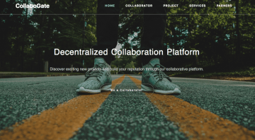 Collabogate, a decentralized collaboration platform