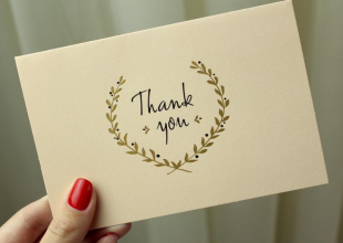 Handwritten Thank You Notes - How They Can Work For You