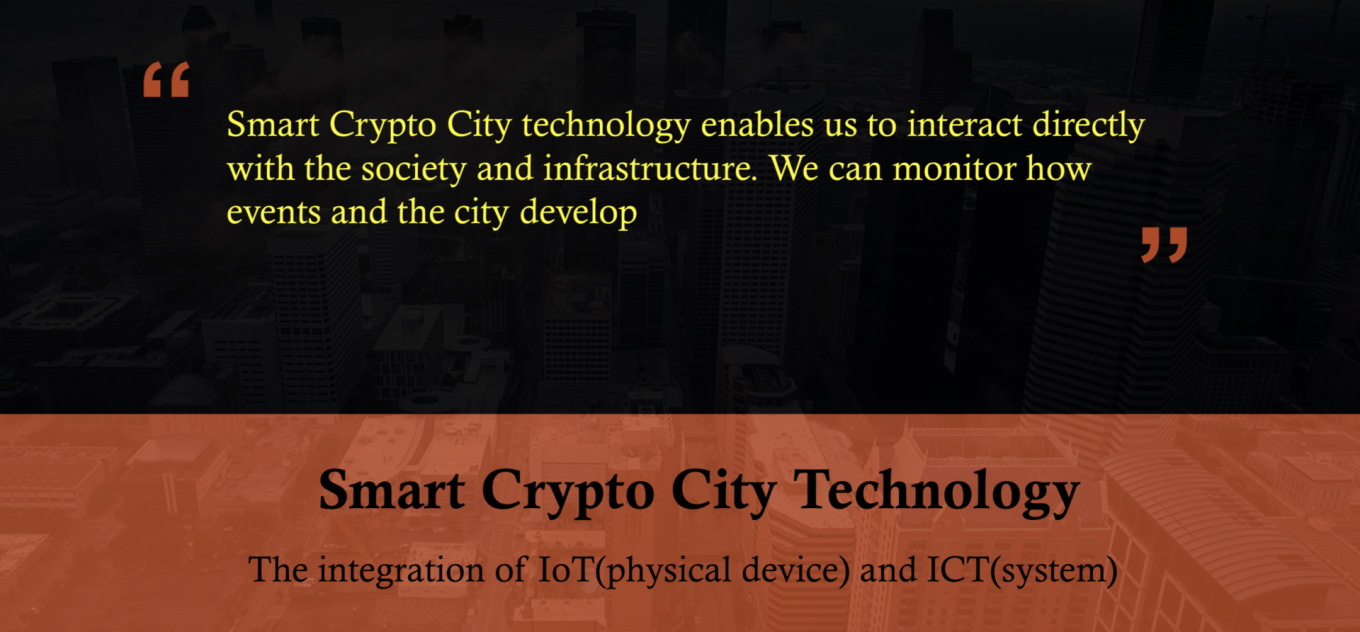 Smart Crypto City by TNC Group Bruce Jeong