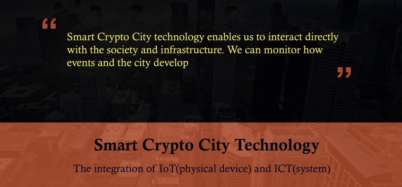 Smart Crypto City by TNC Group Bruce Jeong