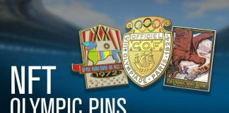 olympic pins, olympic nft