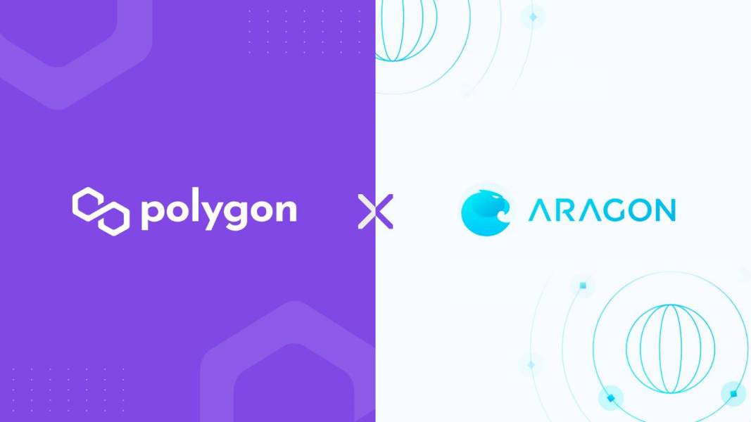 Defi, Aragon, Polygon, Aragon client, DAO, decentralized autonomous organizations, Polygon POS