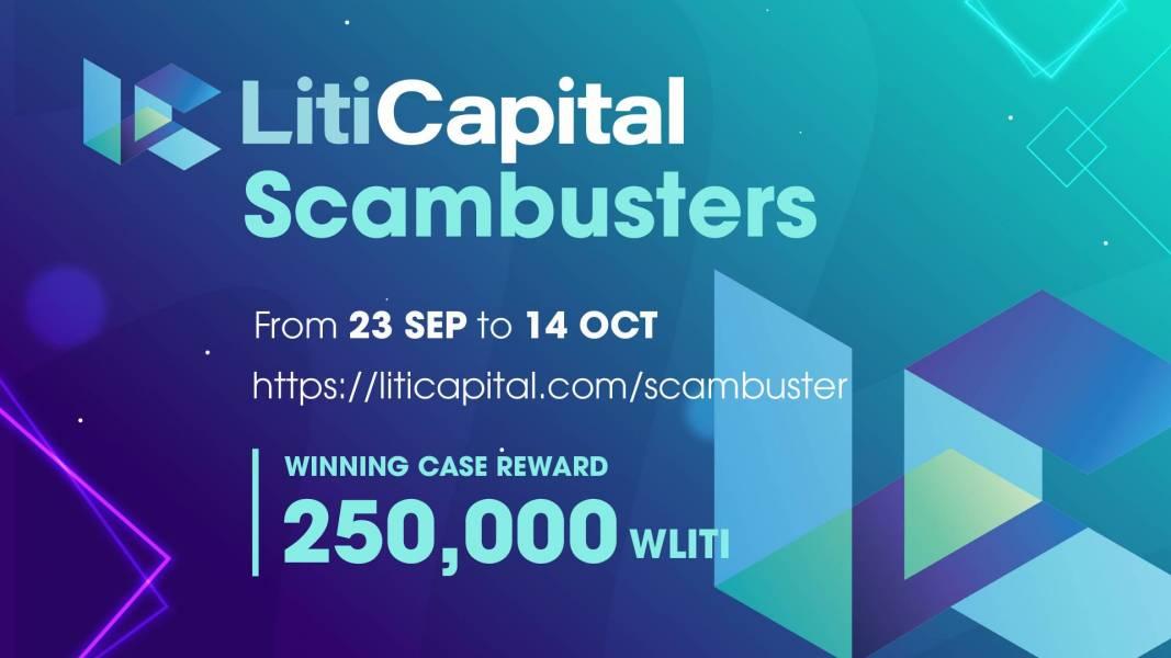 Scambusters, Liti Capital, Crypto, Crypto Scam, Crypto Fraud, Cryptocurrency, Crypto community